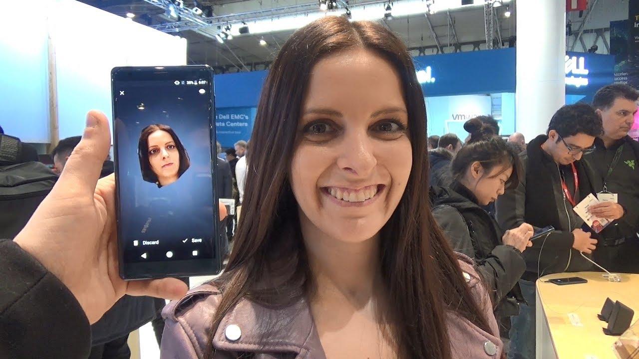 Así funciona 3D Creator en el Sony Xperia XZ2 con las cámaras frontal y  trasera [TEKNOFILO COM]