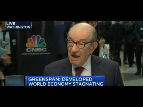 RTD News: Developed World Economy Stagnating - Alan Greenspan