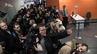 Саакашвілі видворили до Польщі: відео з аеропорту «Бориспіль»