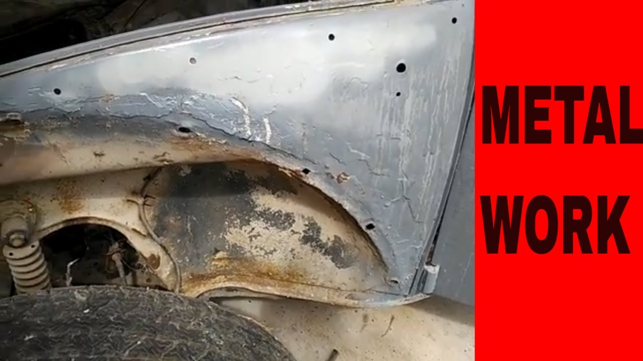 Vw Bug Front Quarter Panel Repair Without Replacing Sheet
