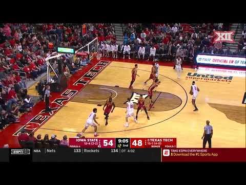 Iowa State vs Texas Tech Men's Basketball Highlights
