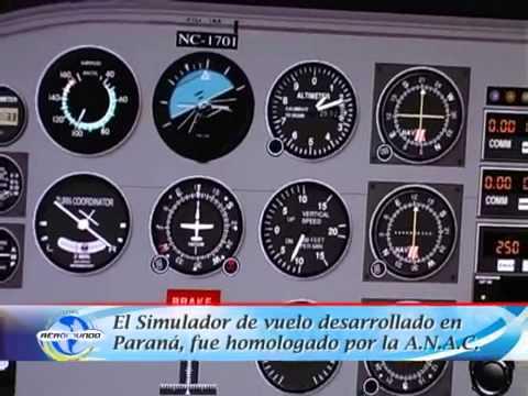 Aeromundo TV - Homologación de ETVI en el Aeropuerto Ciudad de Paraná