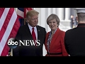 British PM Theresa May Visits the White House