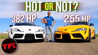 2021 Toyota Supra: How Much Quicker Is The 6 vs the 4-Cylinder? We DRAG RACE Them To Find Out!