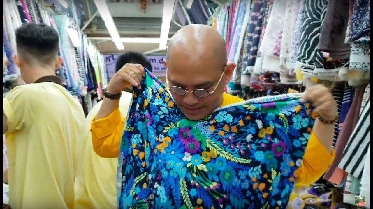 Đàn ông chịu khó đi chợ mua vải ký thời nay có mấy người?
