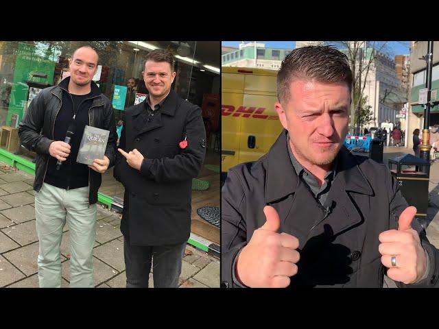 Ekeroth möter en av västvärldens mest förföljda medborgarjournalister - Tommy Robinson (eng sub)