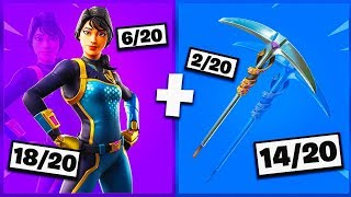 🔥 I NOTE YOUR 20 TRYHARD SKIN COMBOS ON FORTNITE! v9