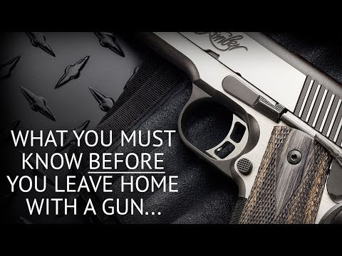 Concealed Carry Mistakes, Don