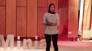 Fighting The Fear of Public Speaking | Yasmine El Baz - ياسمين الباز | TEDxMinia