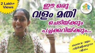 ജൈവ വളം വീട്ടിൽ ഉണ്ടാകുന്ന വിധം/How to Make Organic Fertilizer in Malayalam