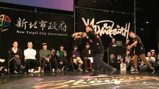 FUSION MC VS HIGH LOW (NEW TAIPEI BBOY CITY 2015) WWW.BBOYWORLD.COM