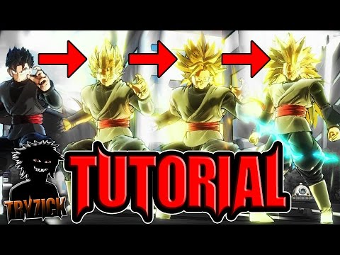 Dragonball Xenoverse 2 Transforming Hair Tutorial Out Dated