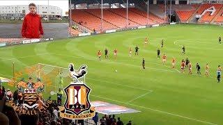 I WANT DEATH - Blackpool Vs Bradford AWAY Match Vlog Ft ItsRamos