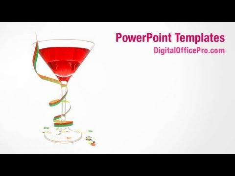 Cocktail powerpoint template backgrounds digitalofficepro cocktail powerpoint template backgrounds digitalofficepro 00181w toneelgroepblik Image collections