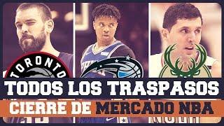 TODOS LOS TRASPASOS DEL CIERRE DE MERCADO NBA
