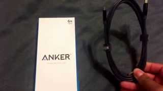 Anker Powerline Micro USB (6ft) - Space Gray