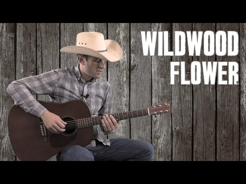 Wildwood Flower - Guitar Lesson Tutorial - Country Bluegrass Flatpicking