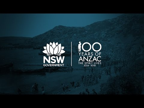 NSW Department of Education resources for the Centenary of Anzac