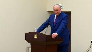 Губернатор Камчатки обратился к бизнес-сообществу и Правительству края с инвестпосланием