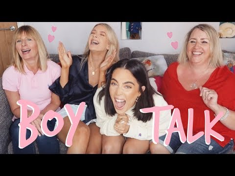 BOY TALK FT. THE MUMS! FIONA + ANGIE TO THE RESCUE | Sophia and Cinzia