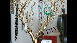 DIY мастер класс- декоративное дерево для украшений master class - a decorative tree for decorations