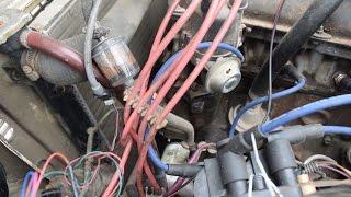 Замена карбюратора на инжектор. Часть 2. ВАЗ 2106, проводка, зажигание. Замеры динамики с модулем.