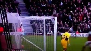 Andy Carrol Goal Vs Liverpool January 16 - Great Header