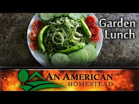 Lunch From The Garden! - Growing Your Own Food!
