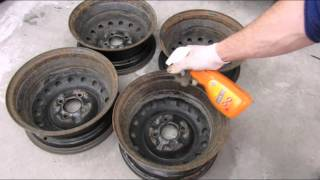 Как восстановить ржавые штампованные диски (штампы)?