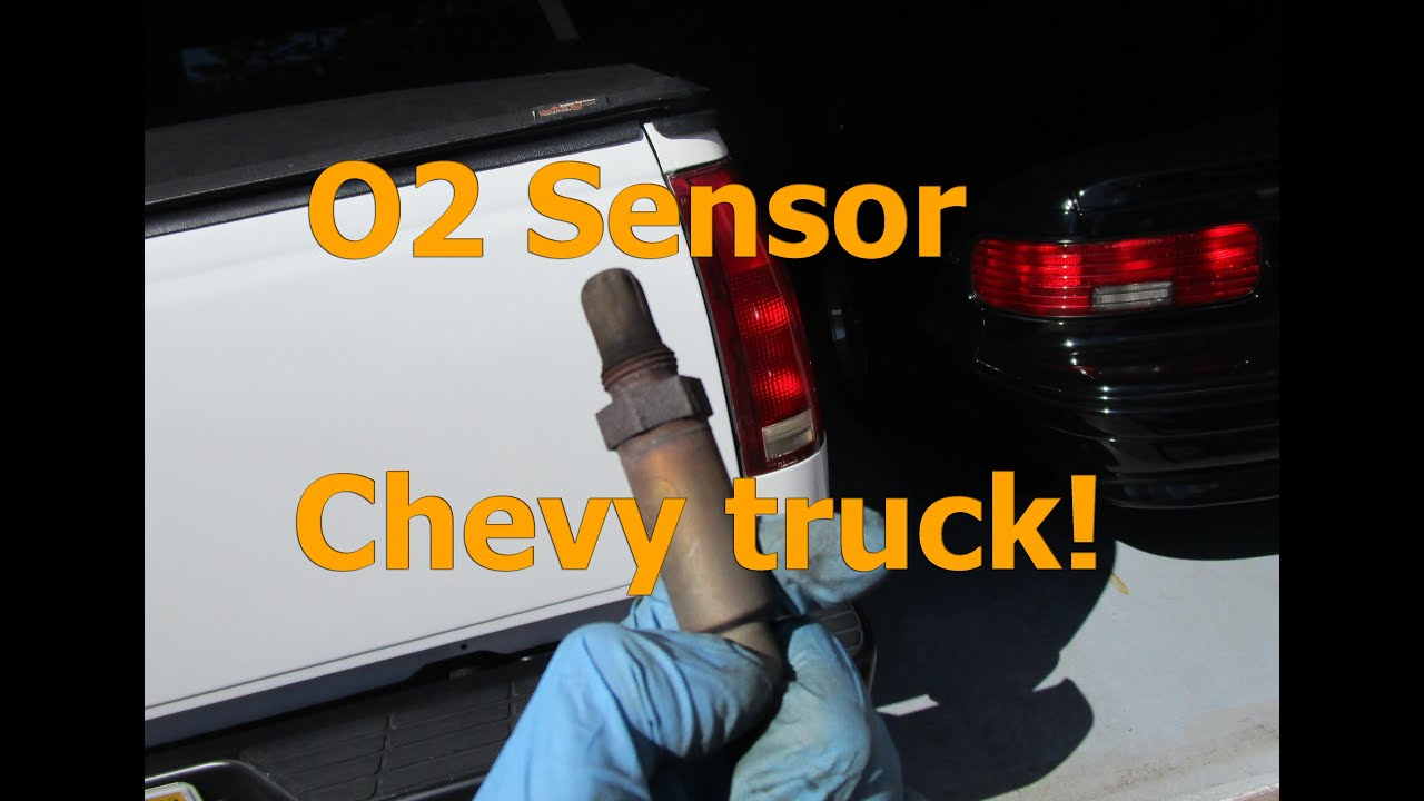 how to o2 sensor replacement chevy silverado gmc sierra 88