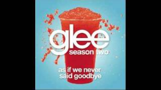 Glee (Kurt Hummel) - As If We Never Said Goodbye w/ lyrics