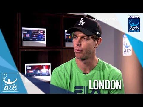 Querrey Previews Federer Vs Cilic Clash Nitto ATP Finals 2017