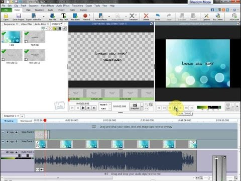 How To Make A Video Lyric or Text using Video Pad Video ...