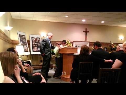 Vincent Anthony Dodge's Funeral