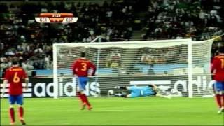El mejor partido del año 2010. ESPAÑA-ALEMANIA