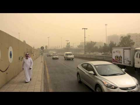 Dust in Amman