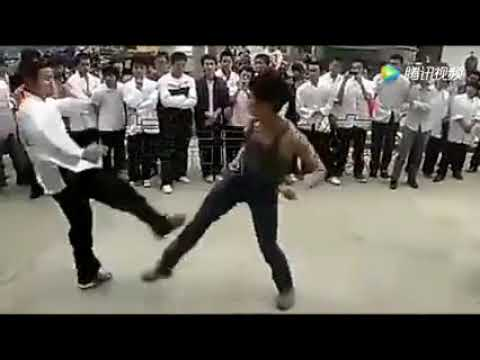 Real Street Fight, Chinese Wing Chun Master Street Fight