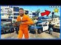 HRAJU JAKO UPRCHLÝ VĚZEŇ V GTA 5! (GTA 5 Módy)
