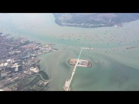 Kota Surabaya Terlihat Dari Udara