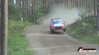 WRC Rally Finland 2019 SS17 Päijälä