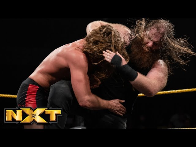 Matt Riddle vs. Killian Dain: WWE NXT, Aug. 21, 2019