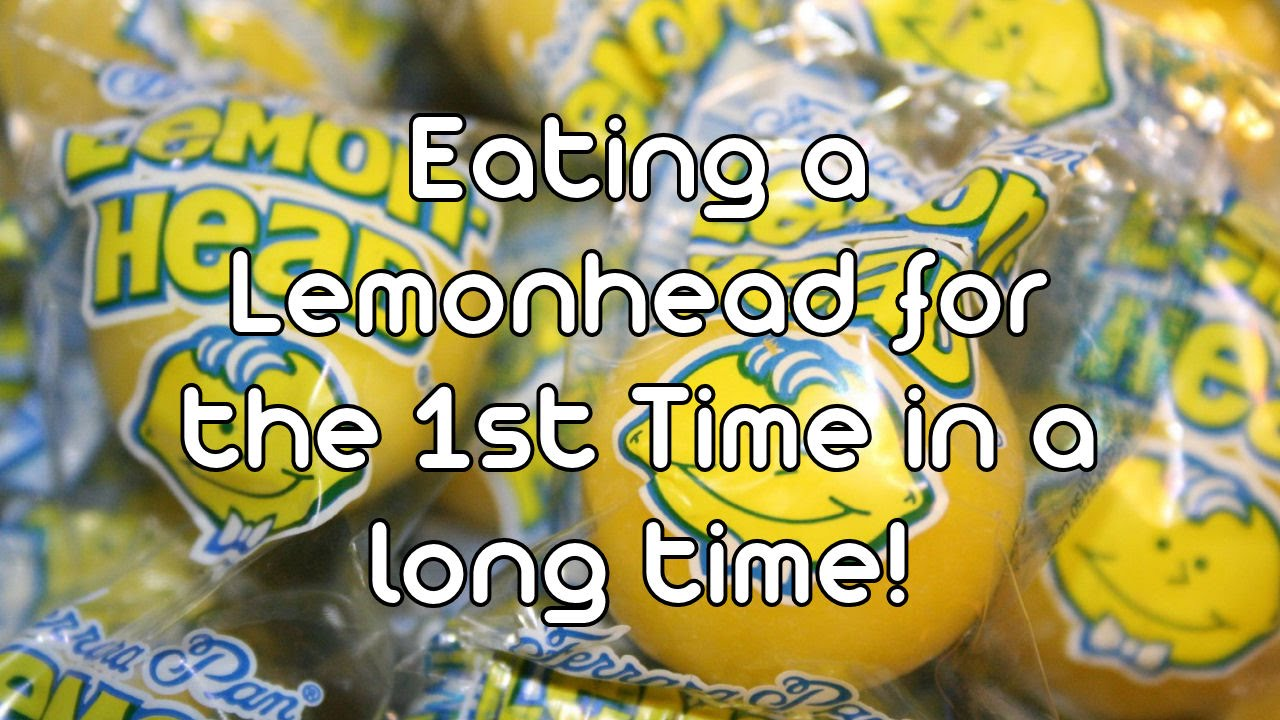 Eating A Lemonhead Candy For The First Time In A Long Time E02 Youtube