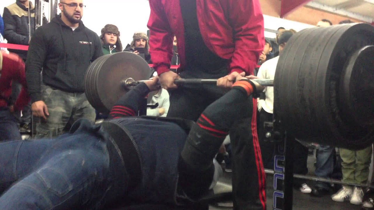 Waqar 280kg 617lbs Bench Press The Rock Gym Winter Bench Comp Dec 2012 Youtube