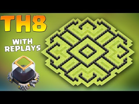 Clash of clans (CoC) | Town hall 8 (TH8) Dark Elixir Base Protect 100% Dark Elixir
