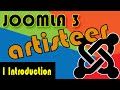 Joomla 3 Tutorials: Artisteer Introduction