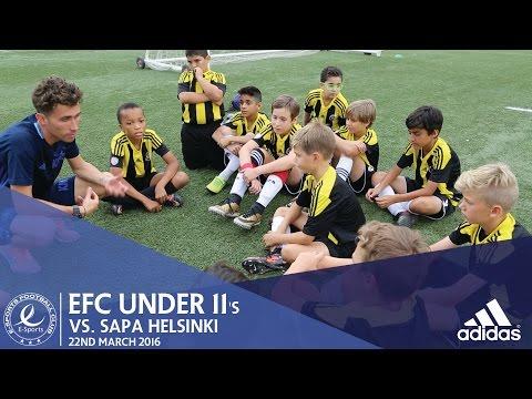 EFC Match Highlights | EFC Under 11's vs SAPA HELSINKI