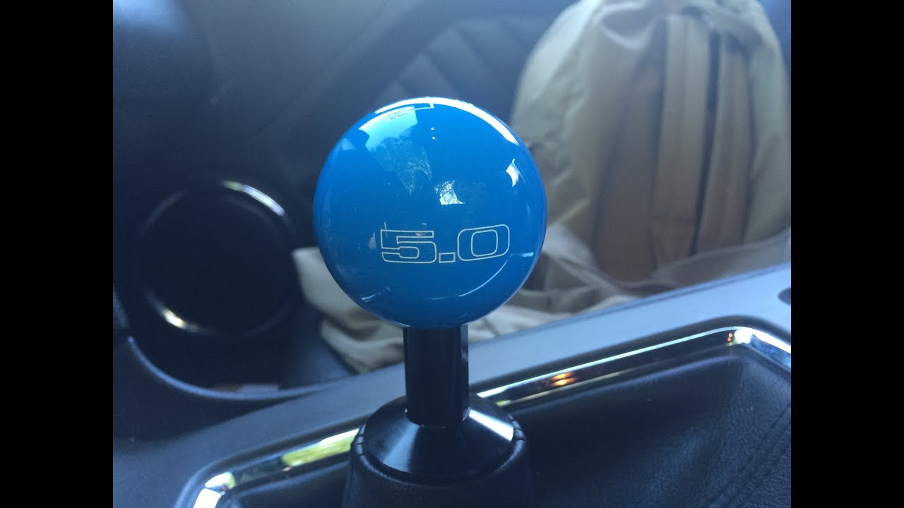 Cj Pony Parts Vs American Muscle >> Ford Mustang Shift knob Comparison 5.0 GT American Muscle vs CJ Pony Parts - YouTube