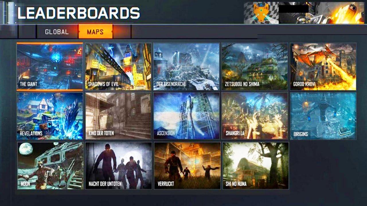 Carte Black Ops 3.Les Cartes Du Dlc 5 De Black Ops 3