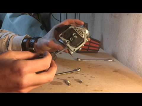 Regulacja i czyszczenie gaznika,Quad Bashan Tuning,Recenzja BS-200 S-7
