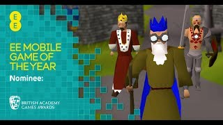 Old School RuneScape - We're up for a BAFTA Games EE Mobile Game of the Year Award!